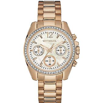Wittnauer Rose Gold-Tone Chronograph Ladies Watch WN4073