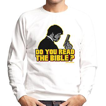 Shepherd Jules Winnfield Pulp Fiction mænds Sweatshirt