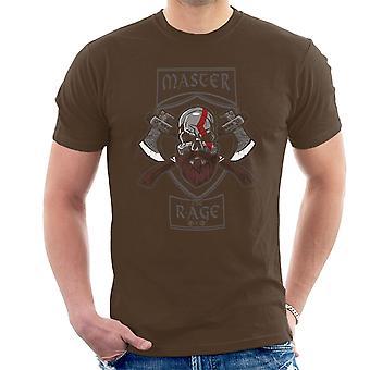 Master raseri Kratos Gud for krig mænd T-Shirt