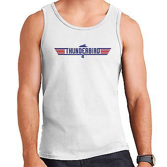 Top Gun Logo Thunderbird 4 Men's Vest