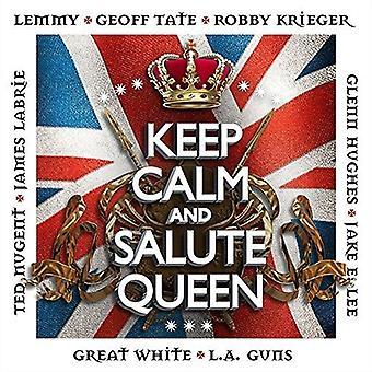 Keep Calm & Salute Queen - Keep Calm & Salute Queen [CD] USA import