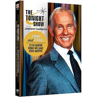 Tonight Show medvirkende Johnny Carson: Johnny & [DVD] USA importerer
