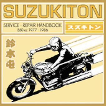 Suzukiton - Service reparation håndbog [CD] USA import