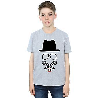 Run DMC gutter krysset mikrofoner t-skjorte