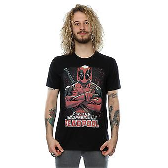Marvel Men's Deadpool Crossed Arms T-Shirt