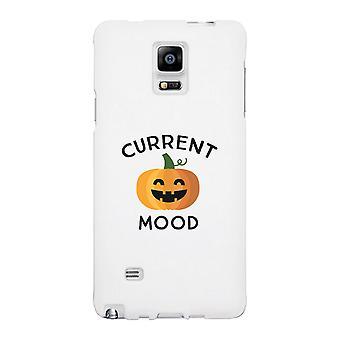 Kürbis aktuelle Stimmung weißen Handyhülle