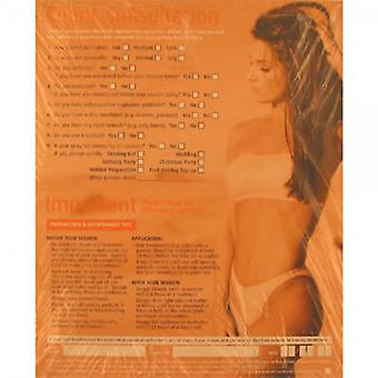 Salon Services Spray Tanning Record Cards