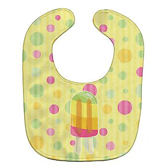 Carolines skatter BB7065BIB is Pop Popsicle Polkadots Baby Bib
