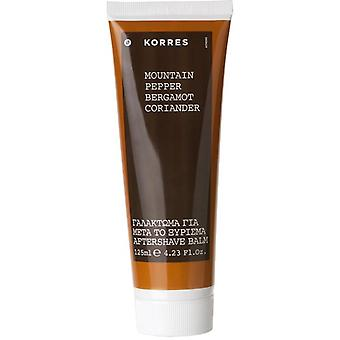Korres Mountain Pepper, Bergmot & koriander Aftershave Balm