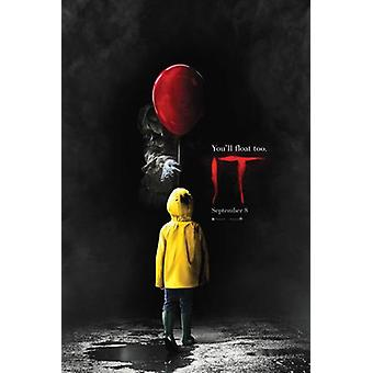 IT Movie Poster Print