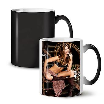Land erotiske pige nye sorte farve skiftende te kaffe keramik krus 11 ounce | Wellcoda