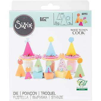 Sizzix Bigz 3-D Die By Where Women Cook-3D Party Hats 661913