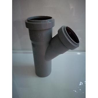 Push-fit fittingen van de afval - tak 45 graden (y vorm) - 40mm Diameter