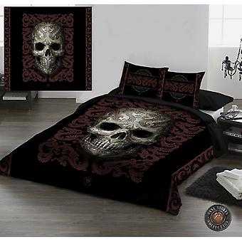 ORIENTAL SKULL - Duvet/Pillow Covers set UK Double / US Twin Bed