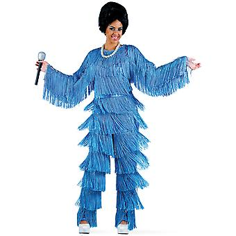Singer Motown 70s fringe dress Diana soul star ladies costume