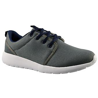 Mens Boys Superlight Memory Foam Lace Up Running Walking Trainers Shoes