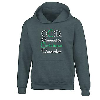 OCD Obsessive Christmas Disorder Xmas Kids Hoodie 10 Colours (S-XL) by swagwear