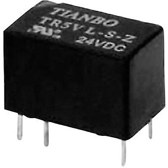 PCB relays 12 Vdc 2 A 1 change-over Tianbo Electronics