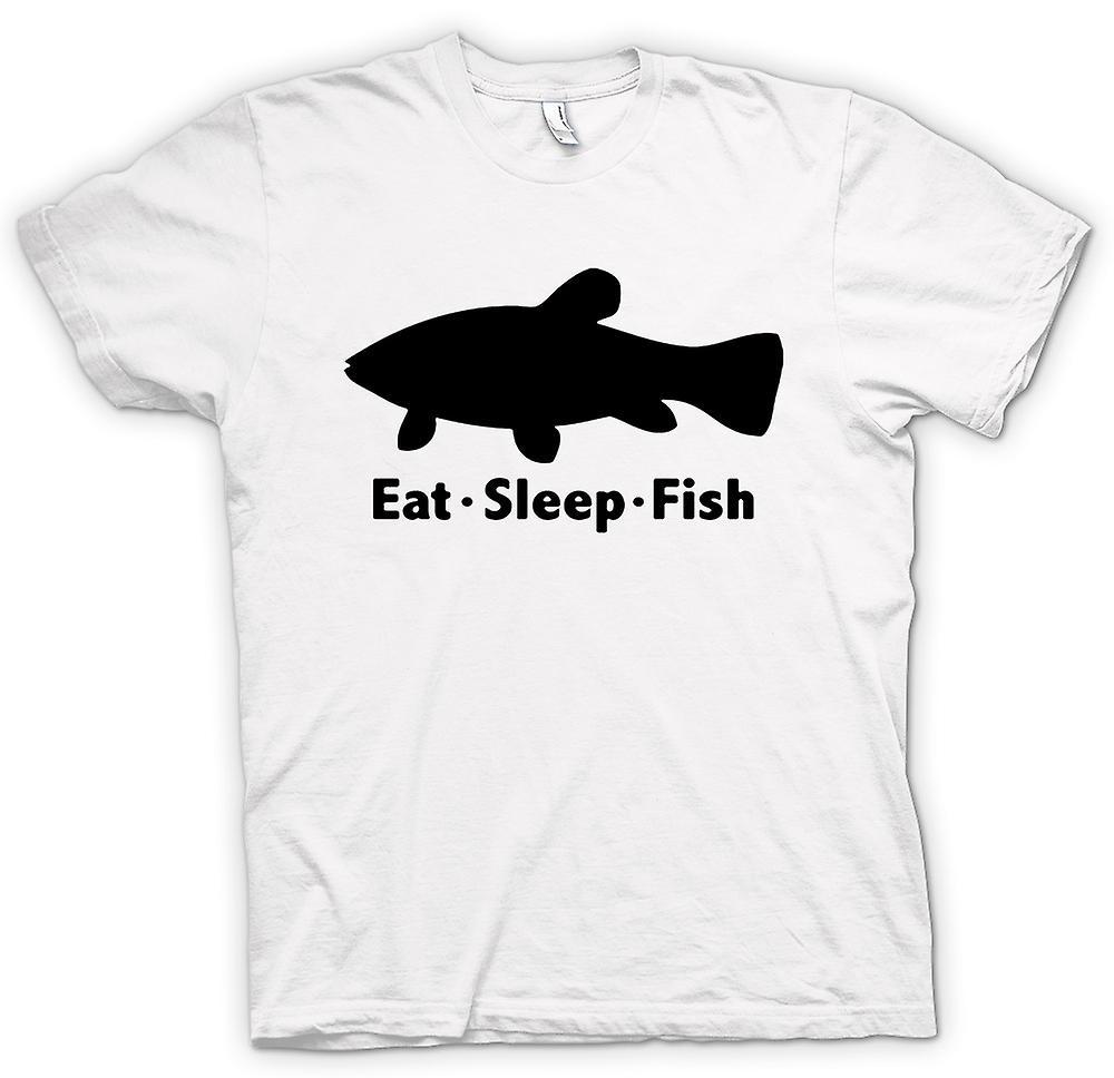 kinder t shirt essen sie schlaf fisch lustig fruugo. Black Bedroom Furniture Sets. Home Design Ideas