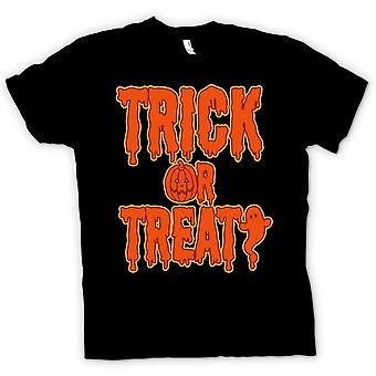 Womens T-shirt - Trick Or Treat - Funny Halloween