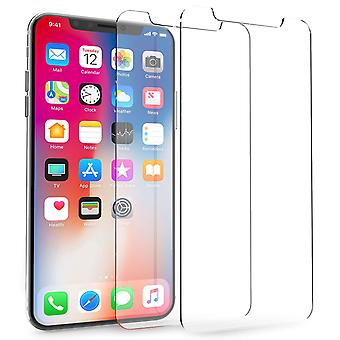iPhone X Glas Screen Protector - Doppelpack