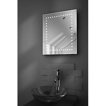Desire Shaver LED Bathroom Mirror With Demister Pad & Sensor k39s