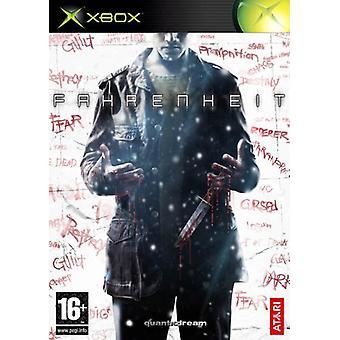 Fahrenheit (Xbox)