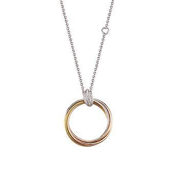 Joop damer halsband halsband Silver guld Rosé omfamning JPNL90693B450
