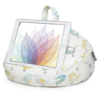 Ipad, Tablet & Ereader Bean Bag Stand By Ibeani - Birds