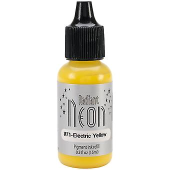 Radiant Neon Ink Refill .5oz-Electric Yellow