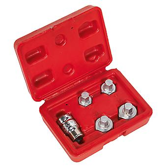 Sealey Vs1808 Motorcycle Spindle Tool Set 5Pc