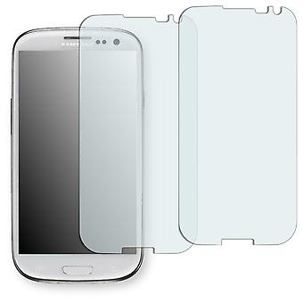 Samsung I9300 Galaxy S3 La fleur Edition display protector - Golebo Semimatt protector (deliberately smaller than the display, as this is arched)
