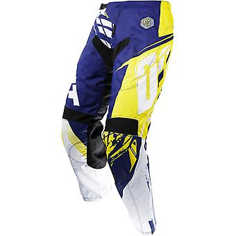 Shot Blue-Yellow 2017 Contact Fast MX Pant
