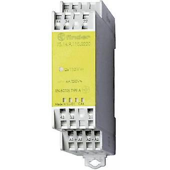 Viseur 7S.14.9.024.0220 - Module relais 6 a avec Contacts guidés forcées DPDT-NO, DPDT-NC 250V AC IP20
