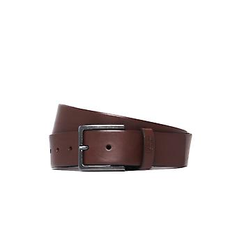 HUGO Gionio Brown Leather Belt