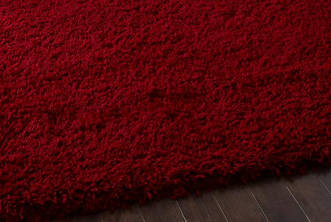 Vista - Plain 2236 Red Red Rectangle Rugs Plain/Nearly Plain Rugs