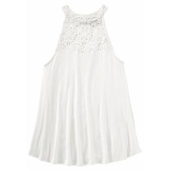 ARIZONA send girl top with lace white