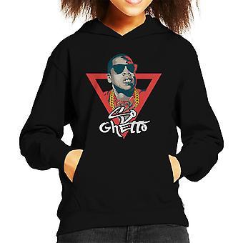 ジェイ Z So ゲットーの歌タイトルキッドのフード付きスウェットシャツ