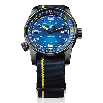 Traser H3 watch P68 Pathfinder automatic blue 107719