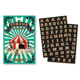 Novelty Set Of Assorted Circus Fridge Magnets