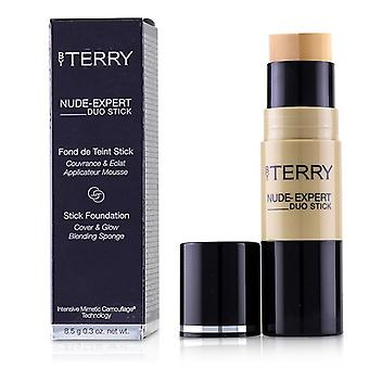 By Terry Nude Expert Duo Stick Foundation - # 9 Honey Beige - 8.5g/0.3oz