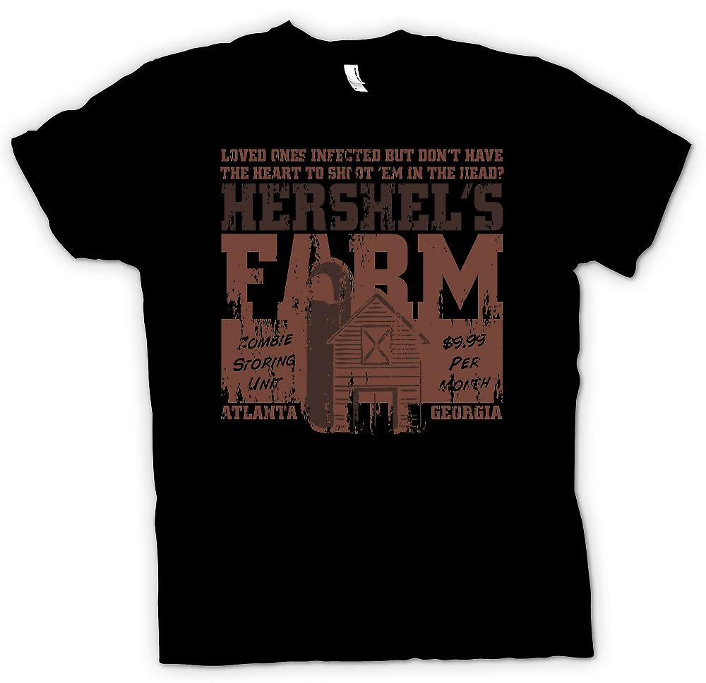 Womens T-shirt - Hershels Farm - Zombie Storing Unit