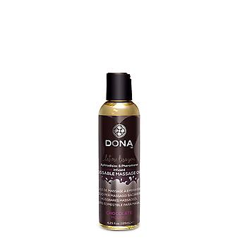 Massage oil with choco smell