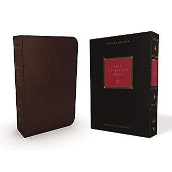 Johannes, statsrådens Bibelen, imitert skinn, brun, rød bokstaven Edition