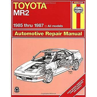 Toyota MR2, 1985-87 Owner's Workshop Manual (USA Service & Repair Manuals)