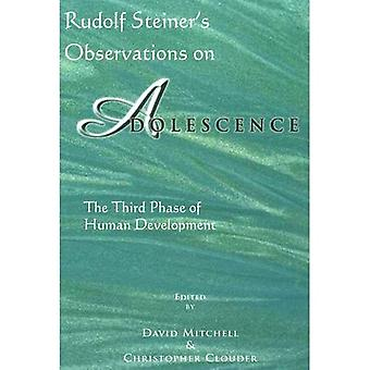 Rudolf SSeiner's Observations on Adolescence: The Third Phase of Human Development