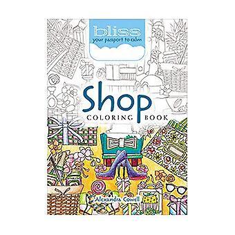 Bliss Shop målarbok: Ditt pass till lugn