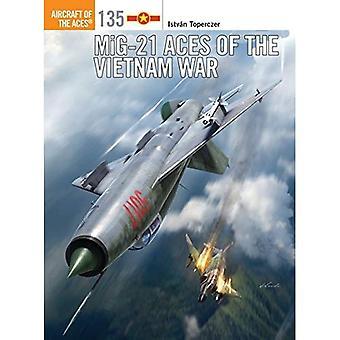 MiG-21 Aces de la guerre du Vietnam (avion des ACE)