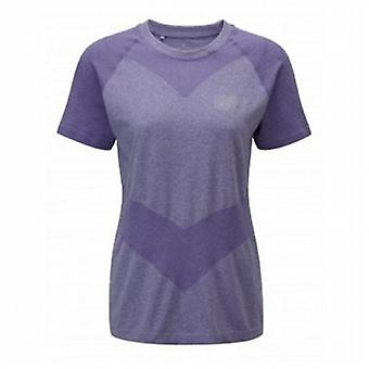 Aspiration Cool-Knit Short Sleeve Tee Royal Purple Womens