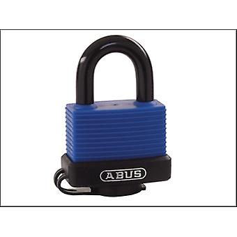70IB/45 45MM BRASS MARINE PADLOCK STAINLESS SHACKLE CARDED